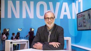 «Il n'y a pas d'intelligence dans l'intelligence artificielle». Interview d'Hervé Bourlard à la Foire du Valais