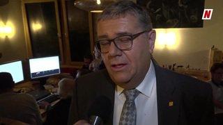 Le PDC valaisan perd un siège au profit de la gauche. Stéphane Pillet président du parti ad interim réagit.