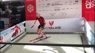 Foire du Valais: skier à la Foire du Valais? C'est possible.