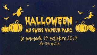 Soirée Halloween - Swiss Vapeur Parc