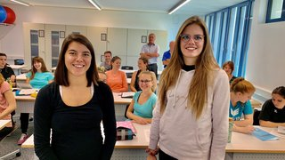 Deux étudiantes de la HEP Valais testent la vraie vie d'enseignantes à Zermatt