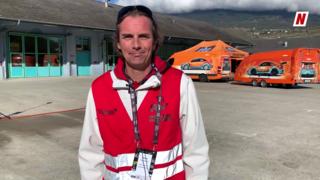 Daniel Hauenstein, chef des parcs d'assistance sur le Rallye international du Valais