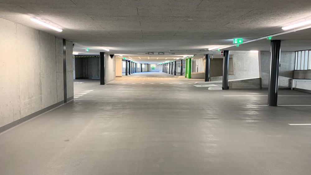 Le parking de 300 places sera officiellement opérationnel dès mercredi.