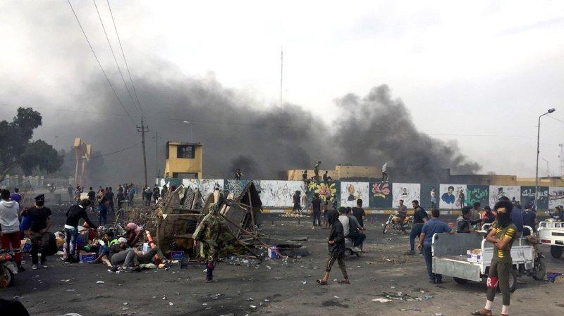 Manifestations en Irak: au moins 33 morts et 200 blessés