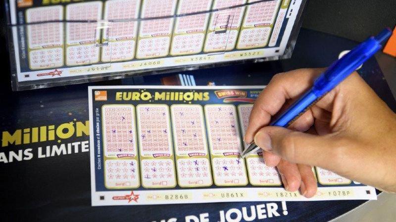 Euro Millions: un chanceux remporte les 135 millions de francs