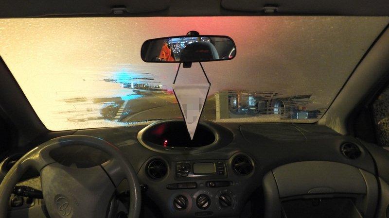 Conduire dans ces conditions peut amener à l'accident, mais aussi à un retrait de permis.