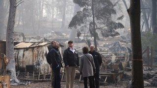 Etats-Unis: l'incendie «Kincade Fire» fait rage au nord de San Francisco