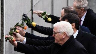 Les commémorations des 30 ans de la chute du Mur de Berlin en images