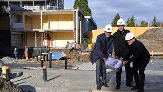 Monthey: les travaux pour l'extension du home des Tilleuls ont débuté