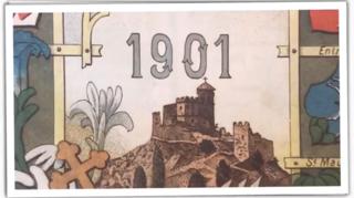 Feuilletez l'«Almanach du Valais» de 1901