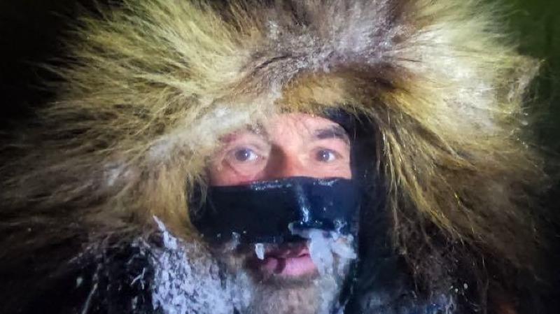 Mike Horn et son compagnon ont subi des conditions difficiles lors de leur expédition.