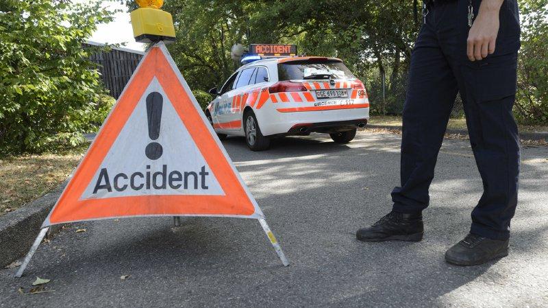 Genève: un piéton perd la vie, percuté par une voiture au petit matin