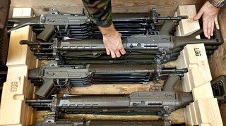 Armée: 102 armes, dont 81 fusils d'assaut, ont disparu en 2019