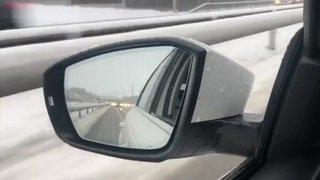 Trafic perturbé entre Soleure et Olten à cause de la neige