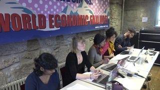 Rejoindre le WEF en ski pour la justice climatique