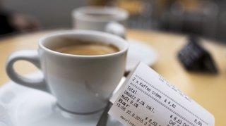 Restauration: le prix du café a baissé pour la première fois en Suisse alémanique