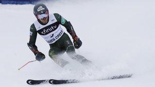 Ski alpin: Tommy Ford en force en géant, les Suisses en retrait