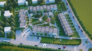 Monthey: des nouvelles villas en ville