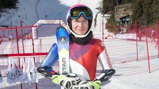 Ski: Lindy Etzensperger grimpe sur le podium