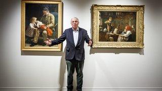 A la Fondation Gianadda, Christoph Blocher dévoile son art