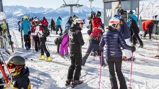 Soleil, neige et diversité de l'offre: la fréquentation touristique valaisanne a explosé durant les Fêtes