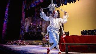 Dom Juan, clown blanc, monstre et jouisseur