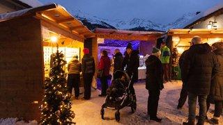Grimentz : Féeries de Noël