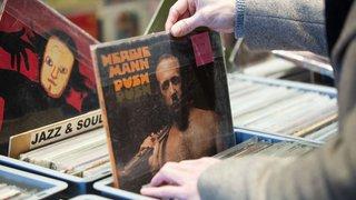 Foire aux disques vinyles à Martigny
