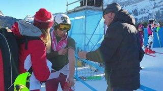 JOJ 2020: Luc Roduit blessé au bras gauche