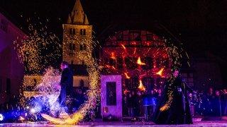 Lumina tout feu tout flamme à Saint-Maurice