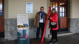 Patrimoine suisse: le Clou rouge fait halte au Bouveret