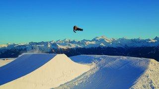 Crans-Montana et son snowpark accueilleront des athlètes des Jeux olympiques de la jeunesse