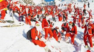 Verbier: 5000 Saint-Nicolas ont inauguré la saison hivernale