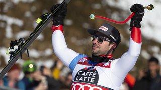 Ski alpin: Beat Feuz remporte la descente de Wengen pour la troisième fois et entre dans la légende