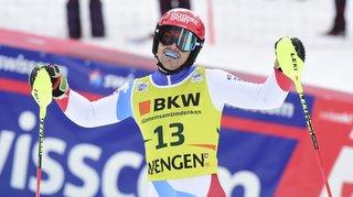 Loïc Meillard: «Quatrième c'est bien, mais je suis à une seconde de Pinturault sur le slalom...»